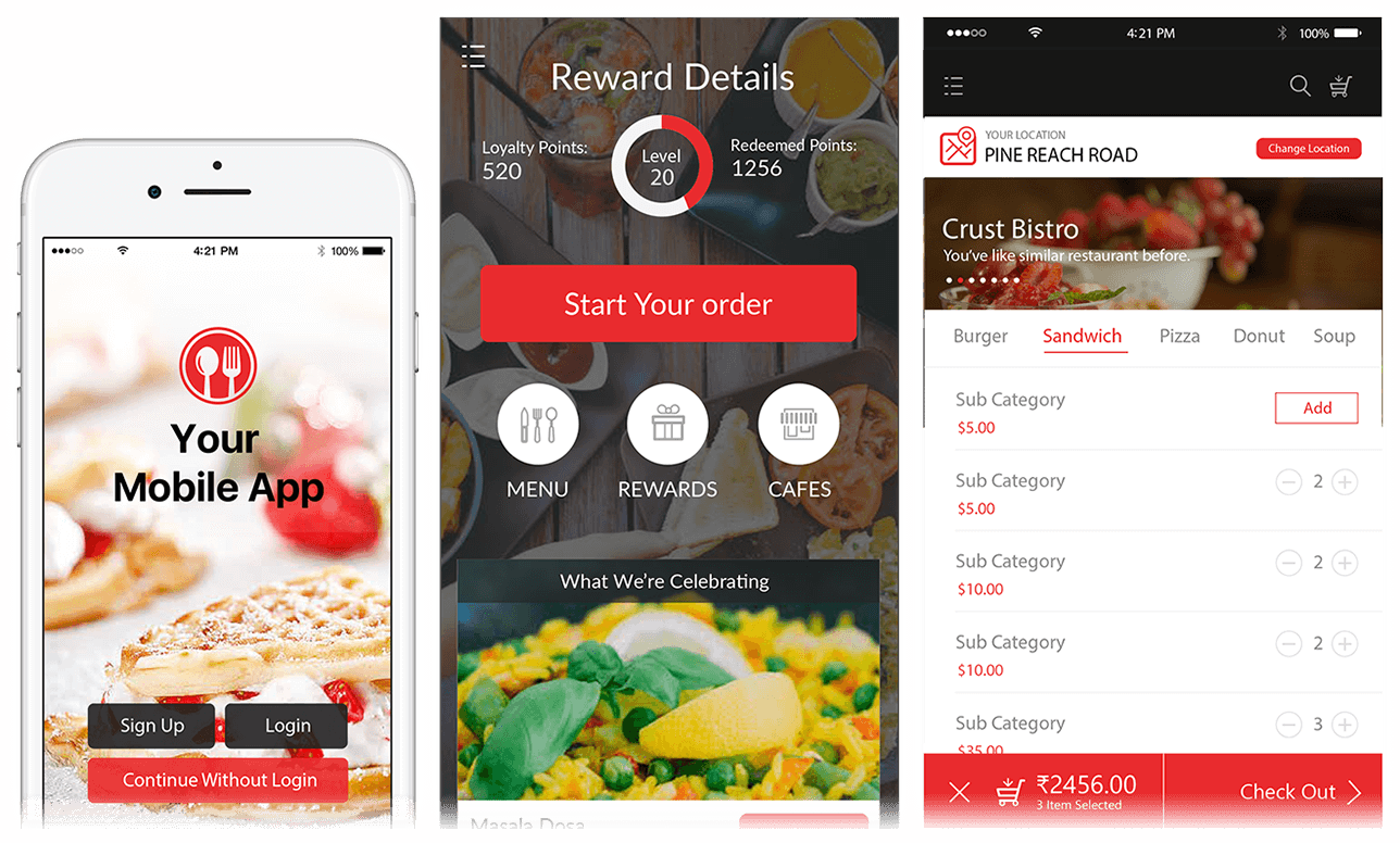 Mobile Ordering Apps Linga Pos